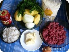 Армянский суп «Кололик» в мультиварке