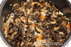 grechka s myasom i gribami v multivarke1 thumb Гречка с мясом и грибами в мультиварке
