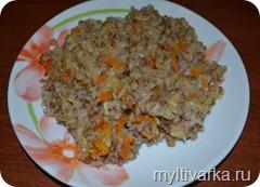 Гречка с рисом в мультиварке