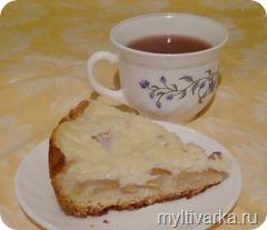 Грушевый пирог в мультиварке