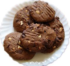 Имбирно-шоколадное печенье в мультиварке