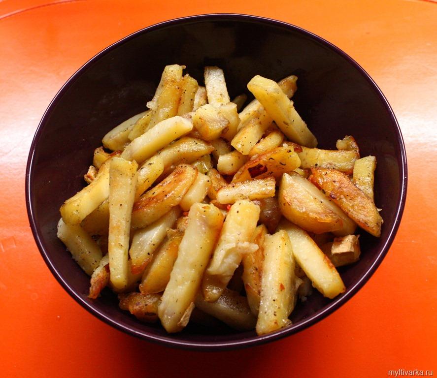 мультиварка редмонд рецепты жареная картошка