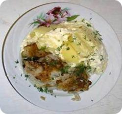 Картофель под сыром в мультиварке