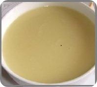 Картофельный суп с чесноком