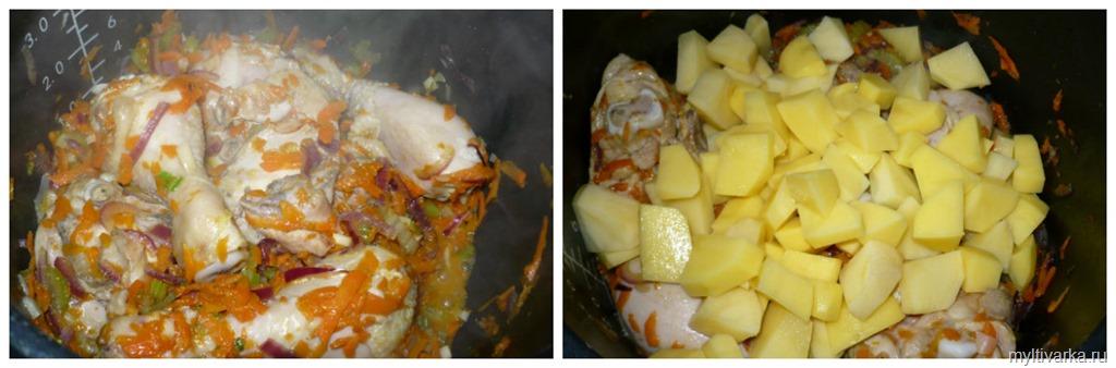 рецепты для мультиварки поларис 0517 суп куриный