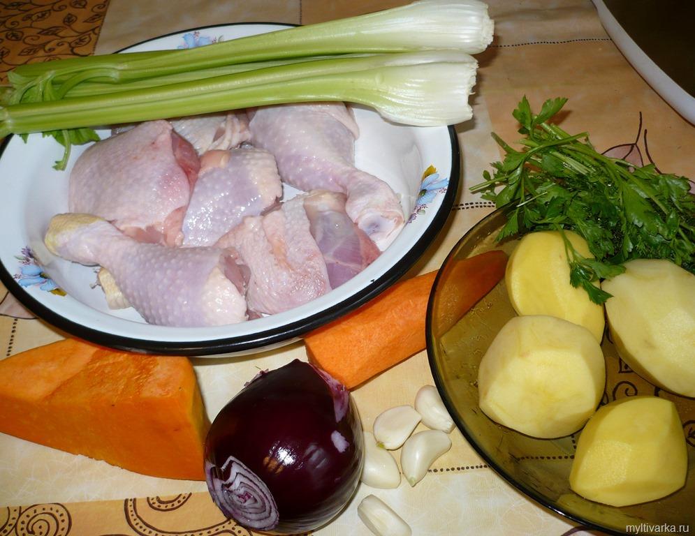 Рецепты в мультиварке поларис из курицы и картошки