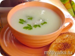 Луковый суп-пюре в мультиварке
