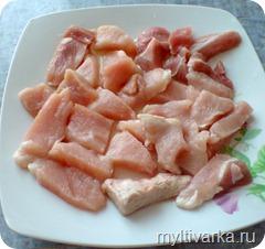 """Мясо """"по-французски"""" в мультиварке"""