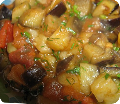 Овощное рагу с фасолью в мультиварке