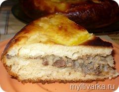 Печеночный пирог в мультиварке Redmond 4502