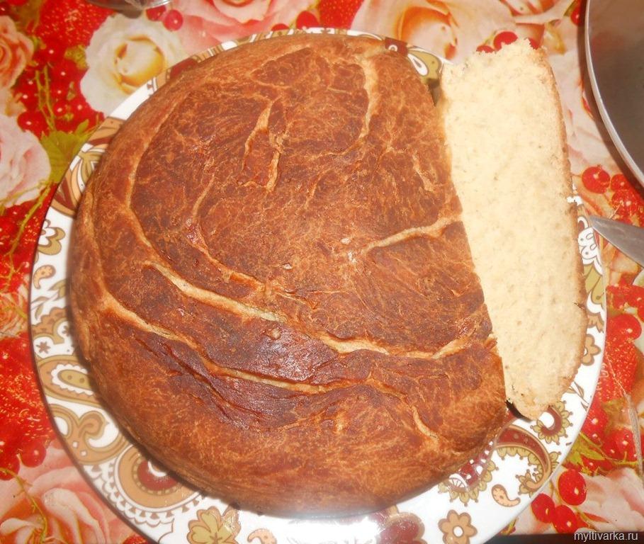 Хлеб на воде в мультиварке рецепты с фото пошагово
