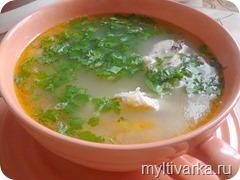 Пшённый суп в мультиварке