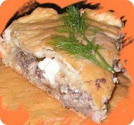 Рыбный пирог в мультиварке