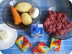 Сливочный суп с фрикадельками в мультиварке