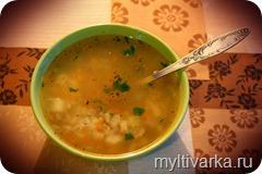 Суп из сома в мультиварке