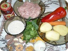 Суп с фаршем и рисом в мультиварке redmond 4502