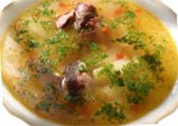 Суп с куриными потрохами в мультиварке