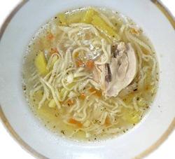 Суп-лапша в мультиварке