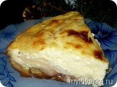 Творожно-грушевый пирог в мультиварке